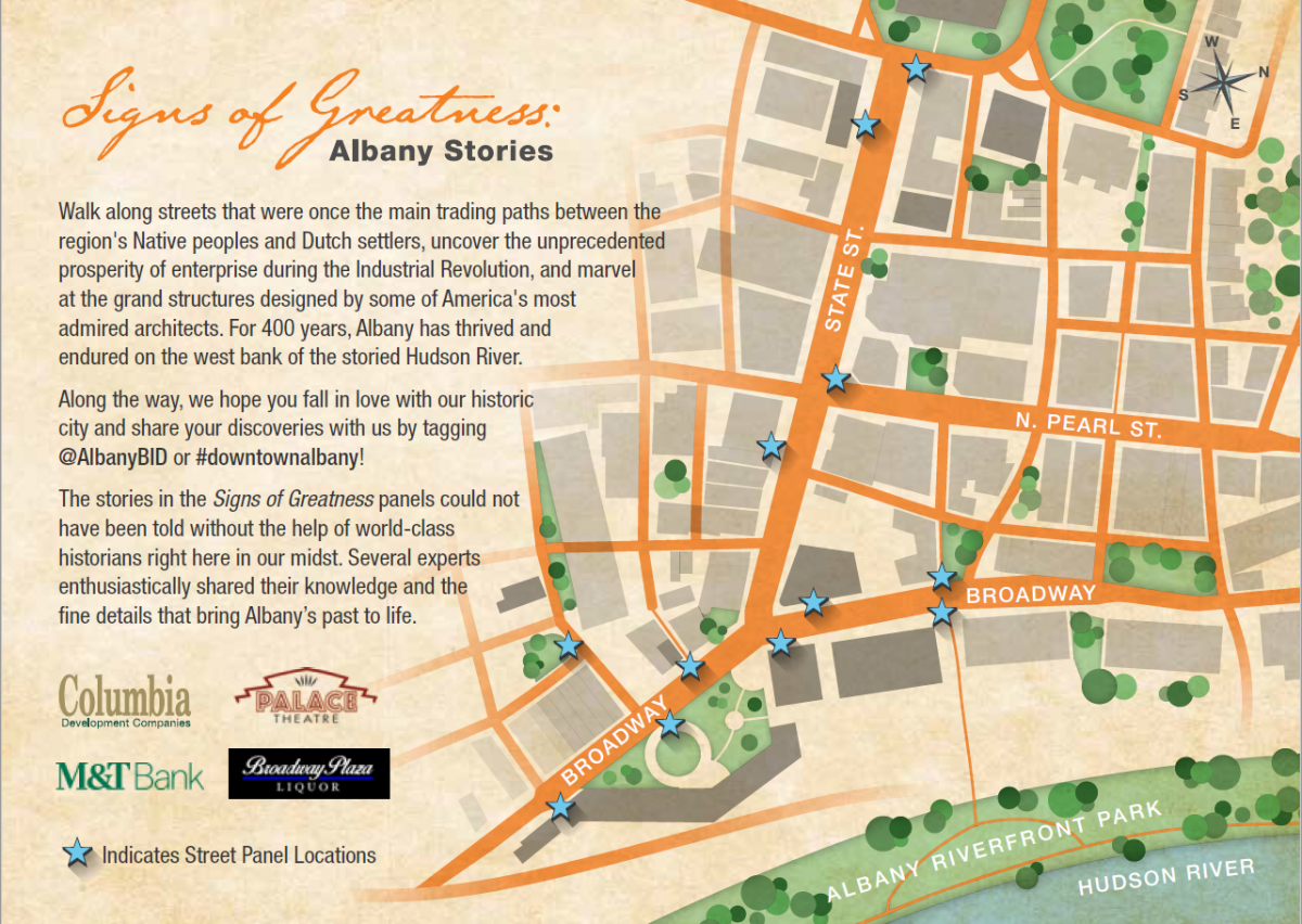 SIGNS OF GREATNESS: ALBANY STORIES PANELS NOW UP | Downtown ...